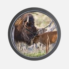 Bison (7) Wall Clock
