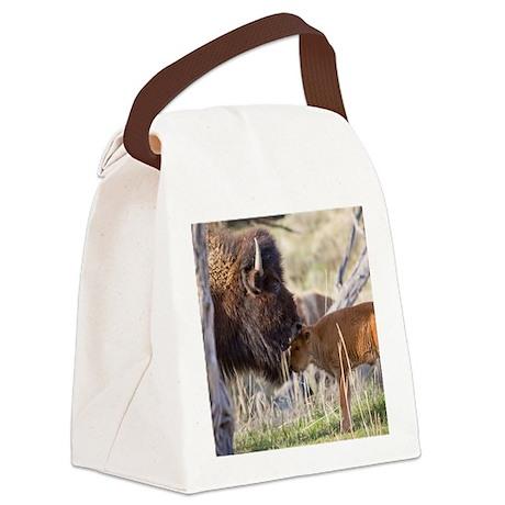 Bison (7) Canvas Lunch Bag