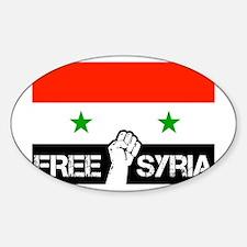 freesyria copy Sticker (Oval)