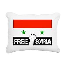 freesyria copy Rectangular Canvas Pillow