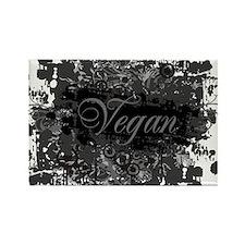vegan-04 Rectangle Magnet
