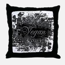 vegan-04 Throw Pillow