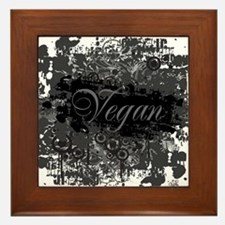 vegan-04 Framed Tile