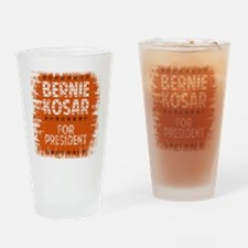 bernie for pres - tee Drinking Glass