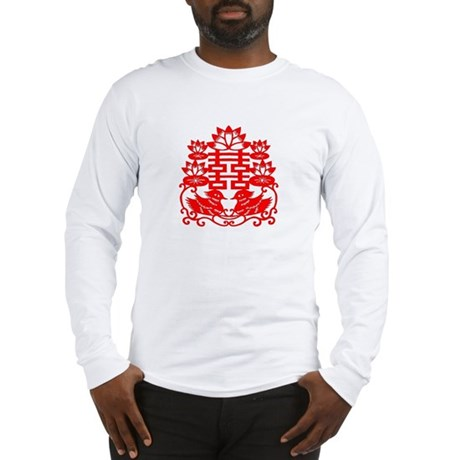 """""""Double Happiness"""" Long Sleeve T-Shirt"""