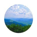 Blue ridge mountains nc Ornaments
