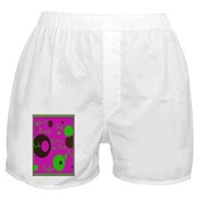 Reading My Nook Boxer Shorts