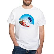 Santa Snowkite Snowboard Shirt