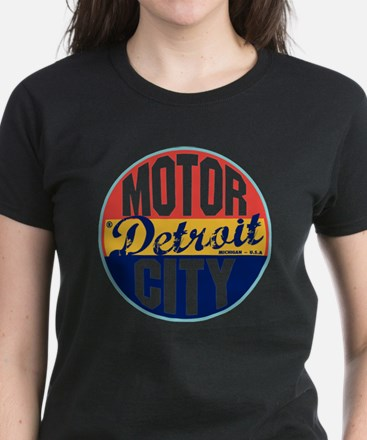 Detroit Vintage Label W Women's Dark T-Shirt