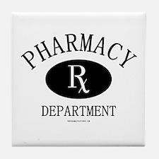 Pharmacy Department Tile Coaster