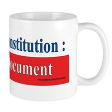 U.S. Constitution...A Dying Document Mug