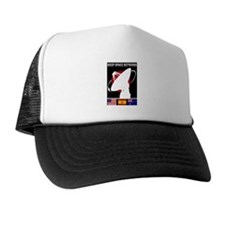 Deep Space Network Trucker Hat
