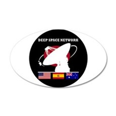 Deep Space Network Wall Decal