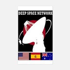 Deep Space Network Sticker (Rectangle)
