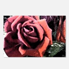 Rose Painting Postcards (Package of 8)