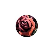 Rose Painting Mini Button