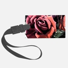 Rose Painting Luggage Tag