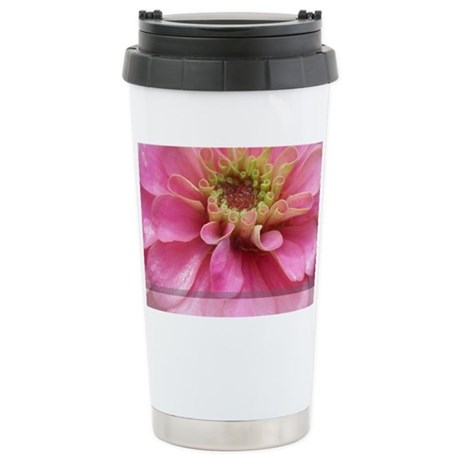 flower13 Stainless Steel Travel Mug
