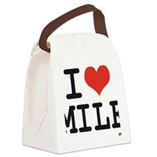 I love MILF Canvas Lunch Bag