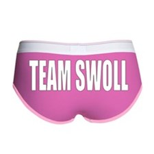 TEAM SWOLL LETTERING FOR COLORED Women's Boy Brief