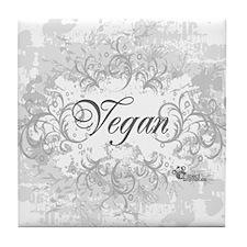 vegan-blanc-05 Tile Coaster