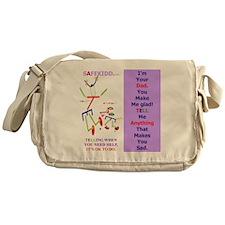Glad Dad TI. WT. Messenger Bag