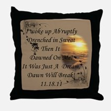 Just A Dream Bag Throw Pillow