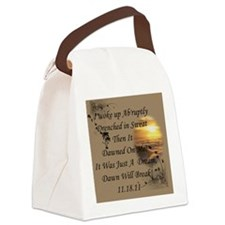 Just A Dream Bag Canvas Lunch Bag