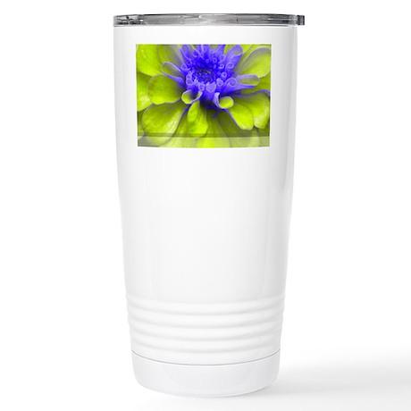 flower7 Stainless Steel Travel Mug