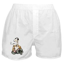Peggy is a smoker Boxer Shorts