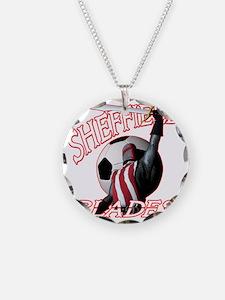 sheffield blades dark shirt Necklace