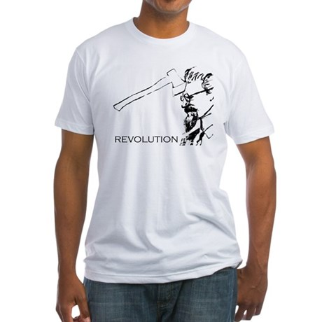 Leon Trotsky the Revolutionary Fitted T-Shirt