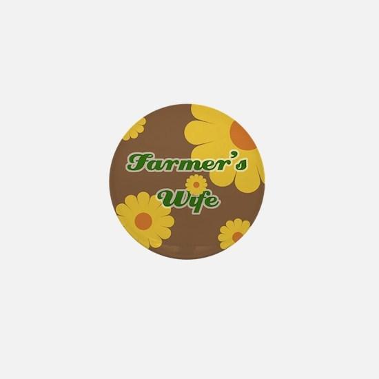 Farmer's Wife Mini Button