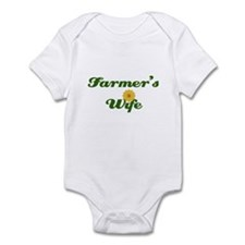 Farmer's Wife Infant Bodysuit