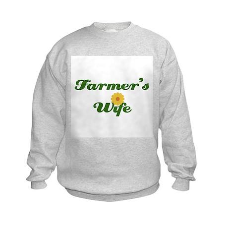 Farmer's Wife Kids Sweatshirt