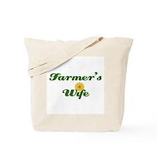 Farmer's Wife Tote Bag