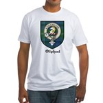 Oliphant Clan Crest Tartan Fitted T-Shirt