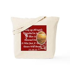 Just A Dream Red Bag Tote Bag