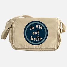 la_Via_est_Belle Messenger Bag
