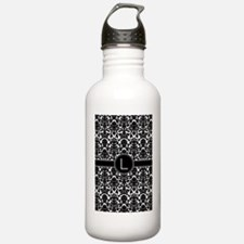 monogram_L2 copy Water Bottle