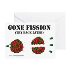fission2 Greeting Card