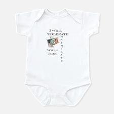 Tolerate / Assimilate Infant Bodysuit