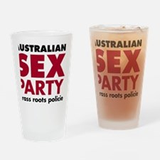 GrassRootsLightshirts Drinking Glass