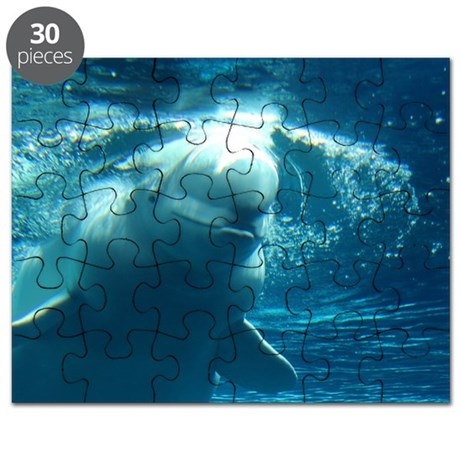 Close up of a Beluga Whale 5 Puzzle