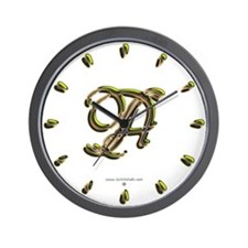 Phyllis Initial A Wall Clock
