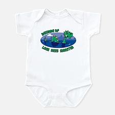 Beware Of Loch Ness Monster Infant Bodysuit