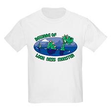 Beware Of Loch Ness Monster Kids T-Shirt
