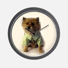 Cute Agility photography Wall Clock