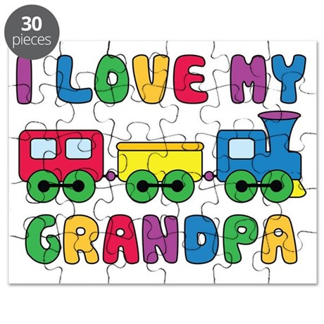 LoveGrandpaTrain Puzzle