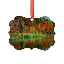 Morning Light, Horseshoe Lake, Ad Ornament